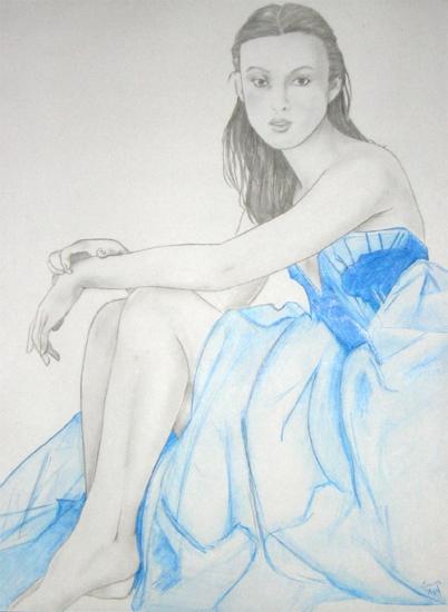 Keira Knightley by bond